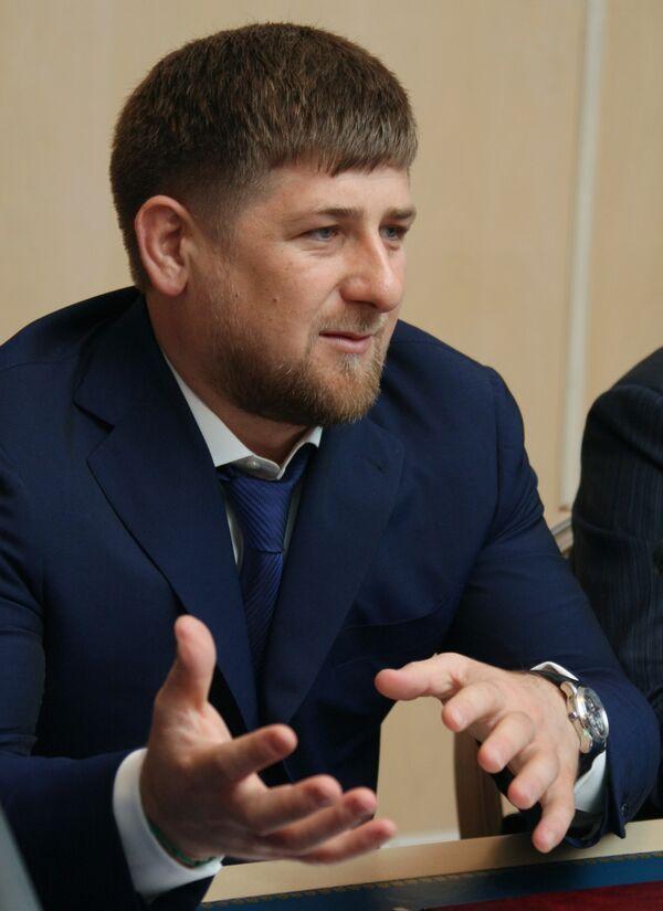 President Ramzan Kadyrov - Sputnik International