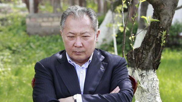Deposed Kyrgyz president steps down - Sputnik International