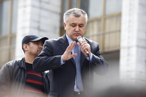 Omurbek Tekebayev - Sputnik International