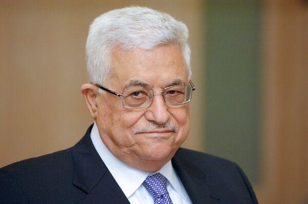 Palestinian leader Mahmoud Abbas - Sputnik International
