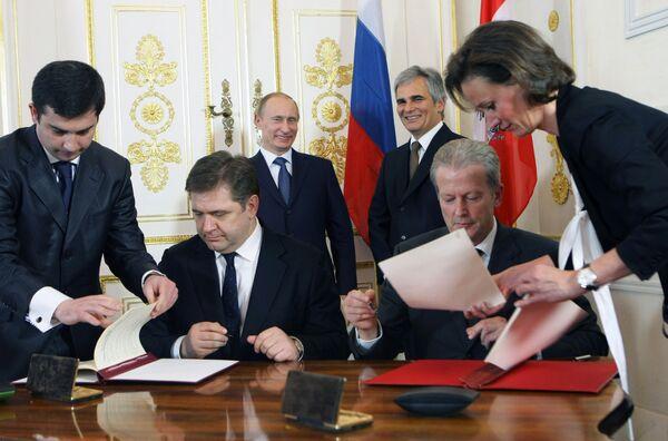 No delays in South Stream implementation - Russia's Putin  - Sputnik International