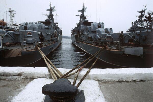 Ukraine parliament committee against Russian Navy base deal - Sputnik International