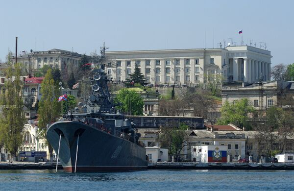 Russian Black Sea Fleet warships - Sputnik International