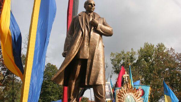 Открытие  памятника С. Бандере во Львове - Sputnik International