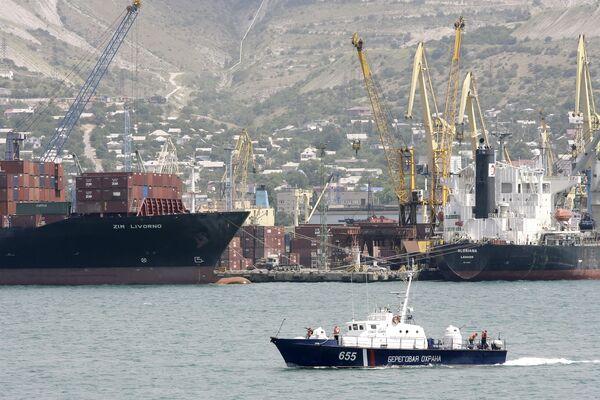 The sea port of Novorossiisk - Sputnik International