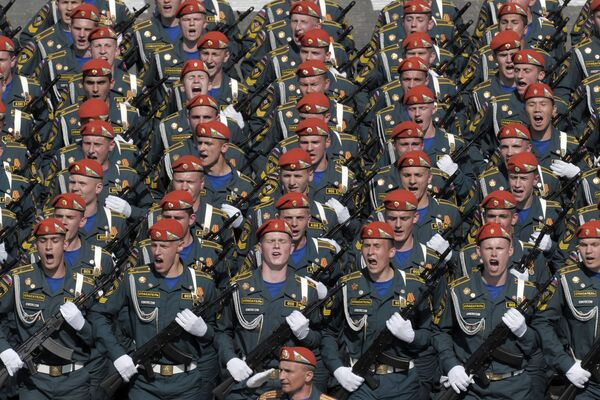 VE-Day parade on Moscow's Red Square - Sputnik International
