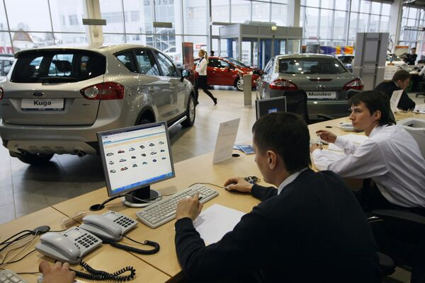 New car sales in Russia see first increase since 2008 crisis  - Sputnik International