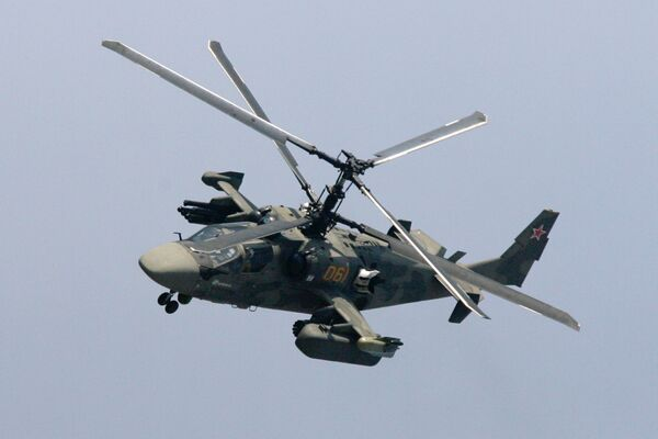 French warships for Russia may be armed with Ka-52 helicopters - Sputnik International