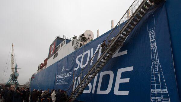 Russian Soyuz-ST carrier rockets sent to Kourou space center - Sputnik International