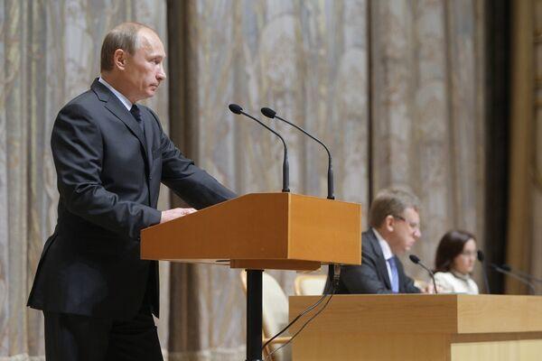 Russia must take note of Europe's worrying economic state - Putin  - Sputnik International