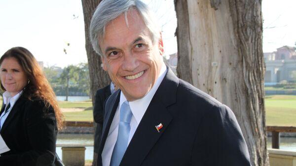 Chile's president, Sebastian Pinera - Sputnik International