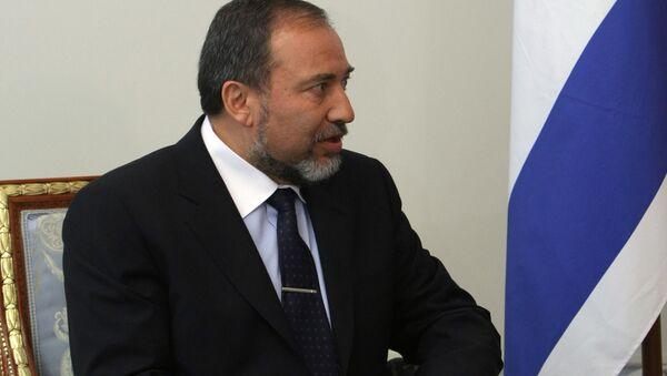 Israeli Foreign Minister Avigdor Lieberman - Sputnik International
