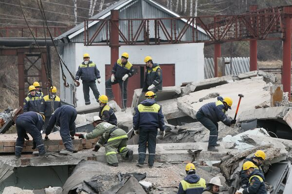 Raspadskaya owners vow restore blasts-hit Russia's Siberian coal mine  - Sputnik International