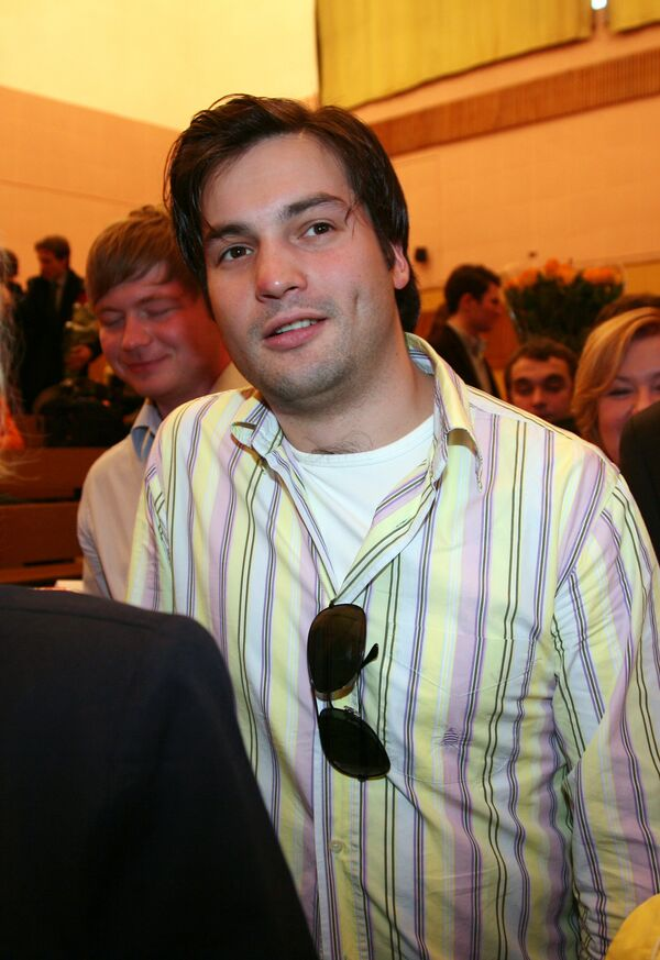 Boris Yeltsin, the grandson and namesake of Russia's first president (archive). - Sputnik International