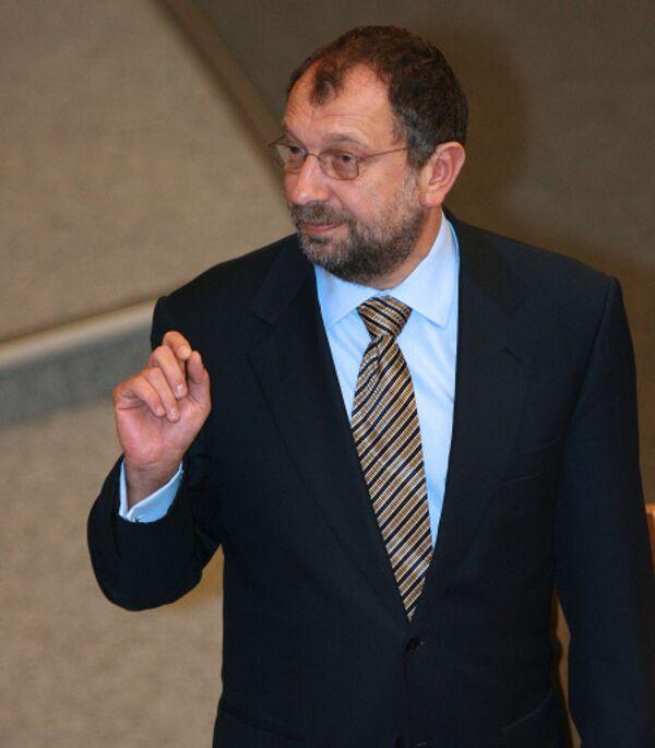 Vladislav Reznik, chairman of the State Duma committee for financial markets - Sputnik International