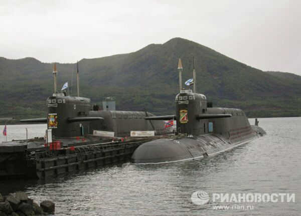 Warships and submarines in Russia's Pacific Fleet - Sputnik International