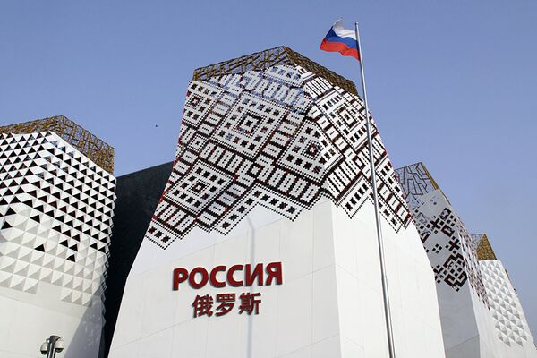 Chinese student becomes 500,000th visitor at Russian exhibit at EXPO-2010  - Sputnik International