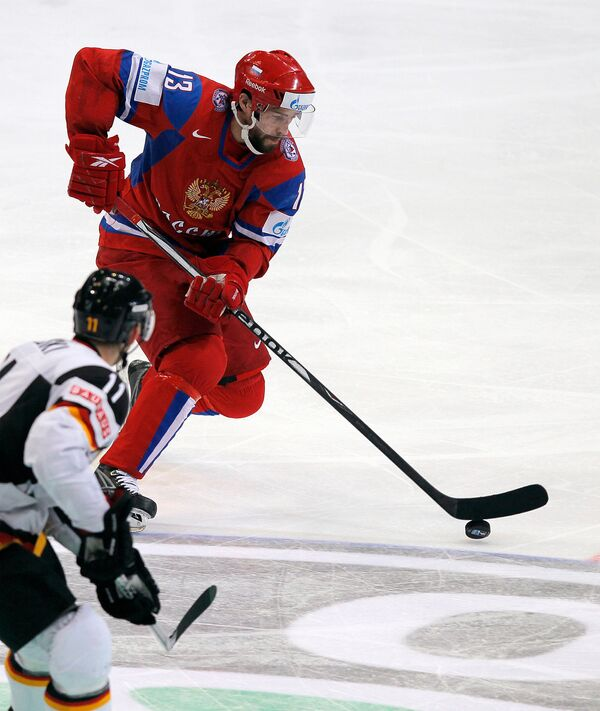 Russia boots Germany from finals in World Ice Hockey Championship - 2:1  - Sputnik International