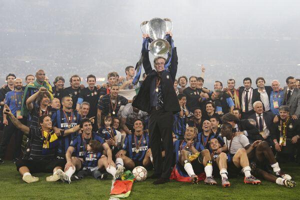 Inter beats Bayern 2:0 to claim Champions league title - Sputnik International