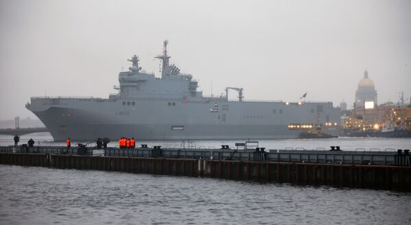Russia in final stage of talks to buy 4 Mistral-class warships - Sputnik International