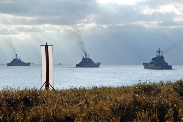 Baltic fleet ships  - Sputnik International