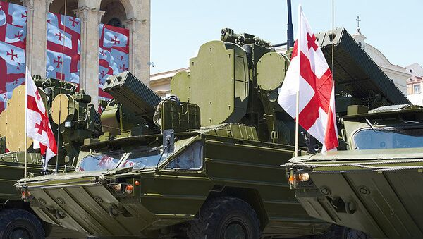 Military parade marking Georgia's Independence Day - Sputnik International