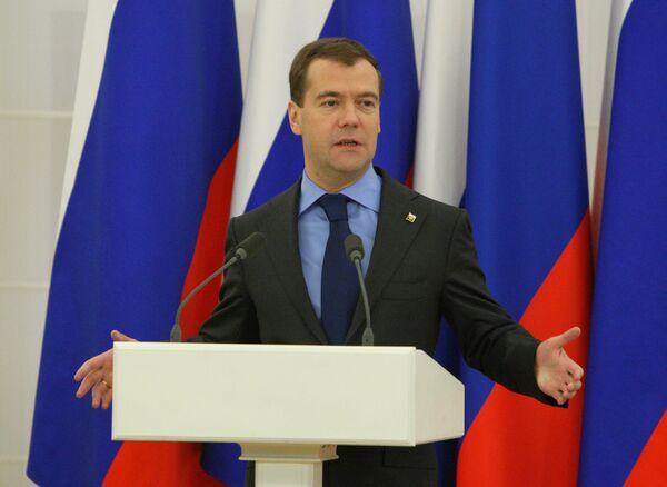 Medvedev confident of further improvement in Russian-Ukrainian ties  - Sputnik International