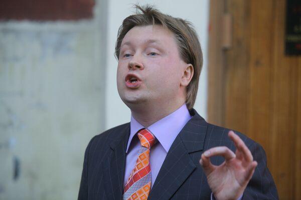 Gay rights activist Nikolai Alexeyev - Sputnik International
