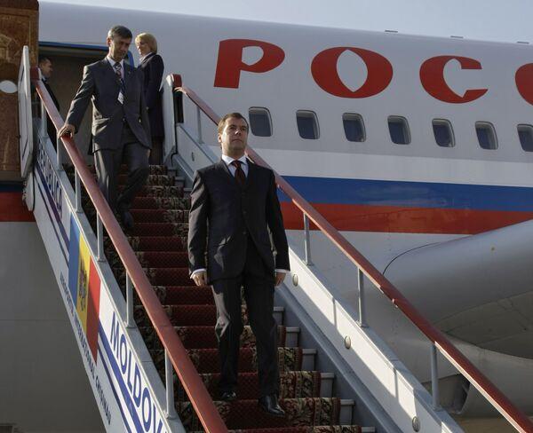 Medvedev arrives in Rostov-on-Don for Russia-EU summit - Sputnik International