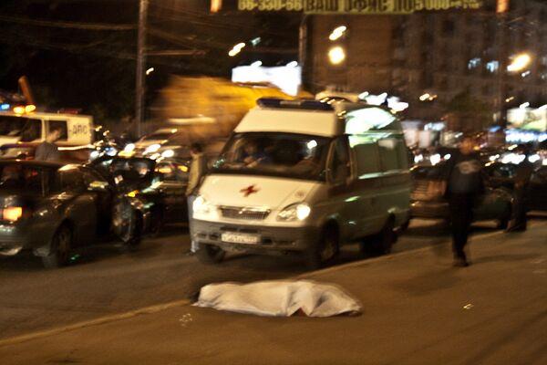 В ДТП в Москве погиб один человек - Sputnik International