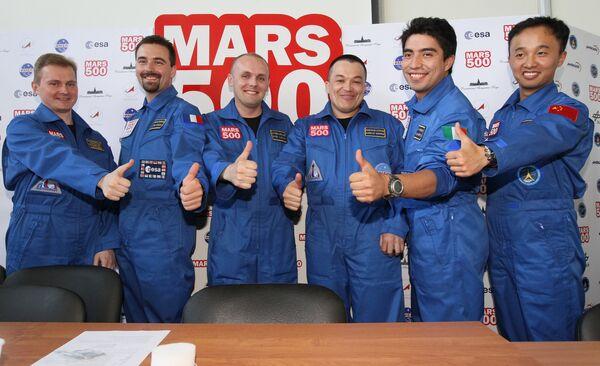 Mars flight simulation blasts off in Moscow - Sputnik International