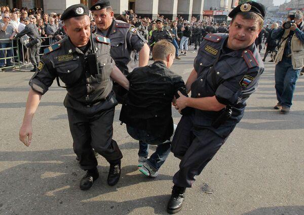 March of Dissent rally held on Triumfalnaya Square on May 31 - Sputnik International