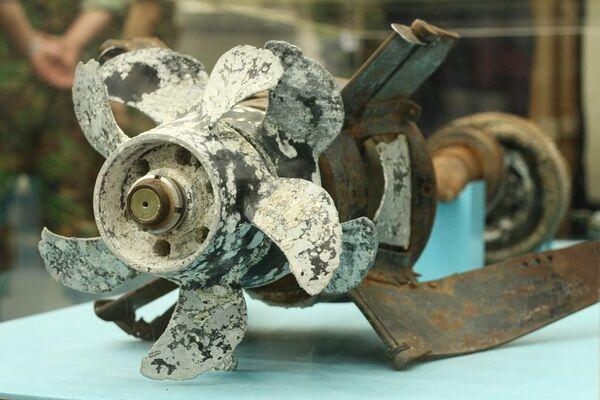 S. Korea shows RIA Novosti torpedo parts  - Sputnik International