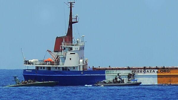 Israeli navy seize last Freedom Flotilla ship (file photo) - Sputnik International