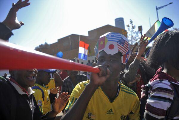 South Africa prepares for 2010 FIFA World Cup - Sputnik International