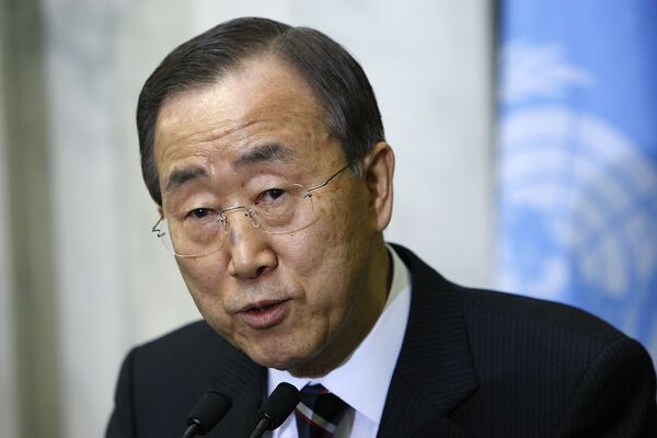 United Nations Secretary General Ban Ki-moon  - Sputnik International