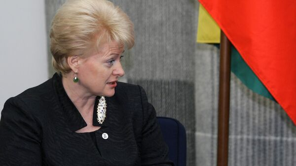 """Lithuanian President Dalia Grybauskaite has proposed amendments to the public information law to protect the country's population from """"hostile propaganda and misinformation"""", Grybauskaite's press service said Friday. - Sputnik International"""