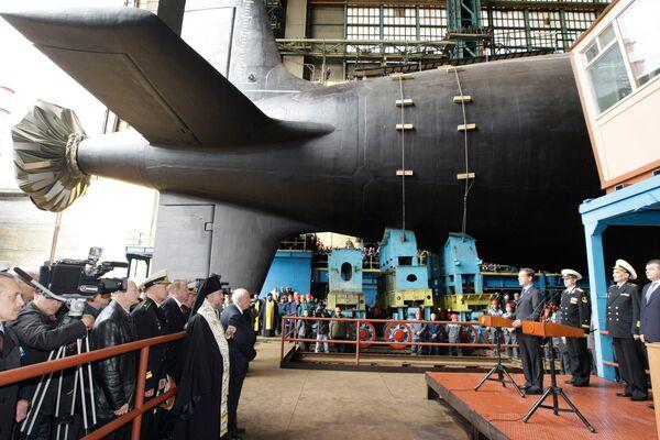 Severodvinsk, the first Yasen-class nuclear submarune - Sputnik International
