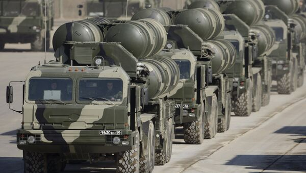 S-400 surface-to-air missile systems - Sputnik International