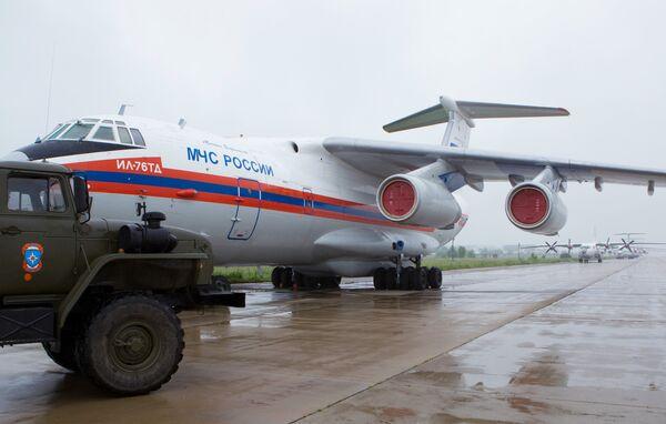 Russian aircraft with humanitarian aid  - Sputnik International
