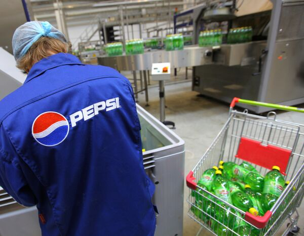 PepsiCo plans to become Russia's major food producer by 2015 - Sputnik International