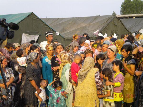 Over 7,000 refugees return to Kyrgyzstan  - Sputnik International