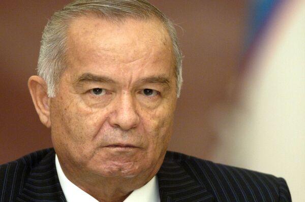 Uzbek President Islam Karimov - Sputnik International