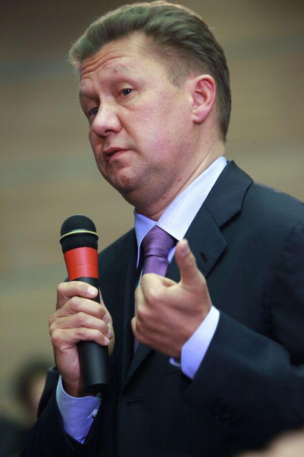 Gazprom's CEO Alexei Miller - Sputnik International