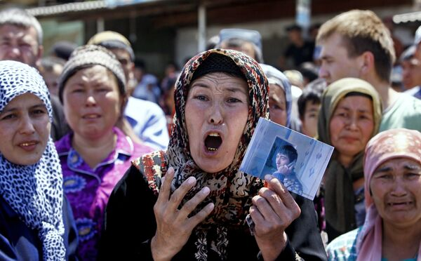 Tragic events in Kyrgyzstan - Sputnik International
