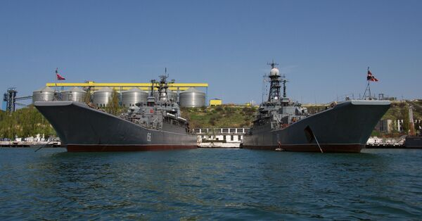 Russian Black Sea Fleet to receive 15 new combat vessels by 2020  - Sputnik International