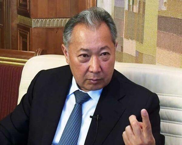 Former Kyrgyz President Kurmanbek Bakiyev - Sputnik International