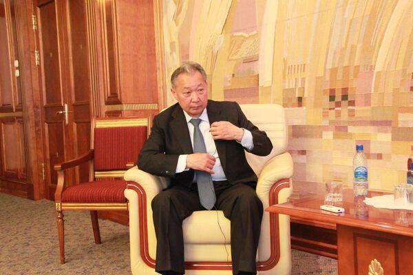 Kurmanbek Bakiyev, Kyrgyzstan's ousted president - Sputnik International