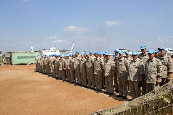 Peacekeepers in Sudan - Sputnik International