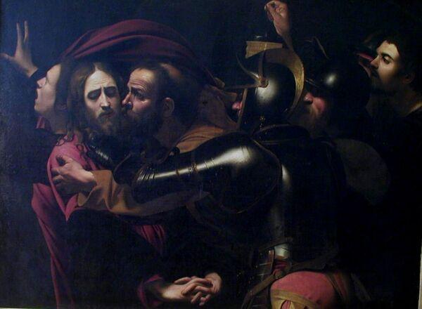 The Taking of Christ by Italian Renaissance artist Michelangelo Caravaggio - Sputnik International